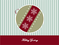 Happyholidays2 Greeting Card (4x55)